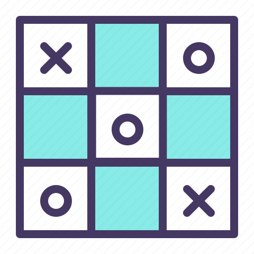 cross, dots, game, strategy, tac, tic, toe icon