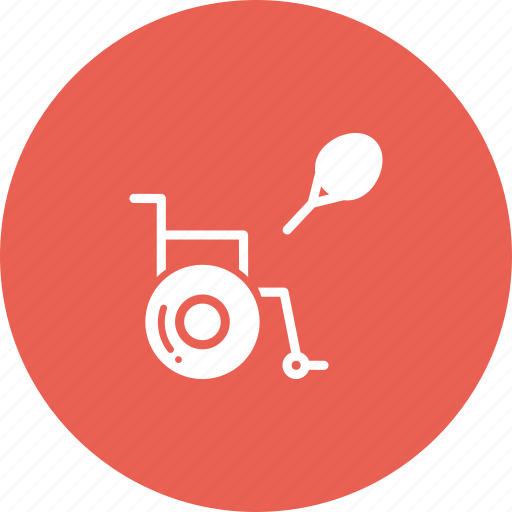 disabled, games, paralympic, paralympics, sports, tennis icon
