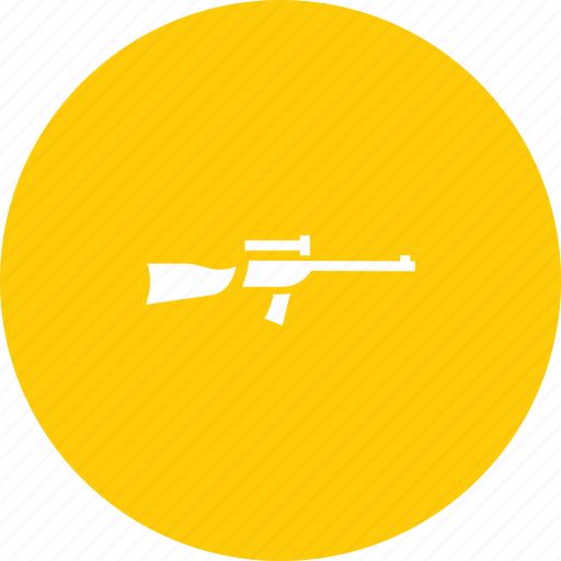 rifle, shoot, shooting, weapon icon