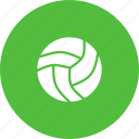ball, game, play, sport, volleyball icon