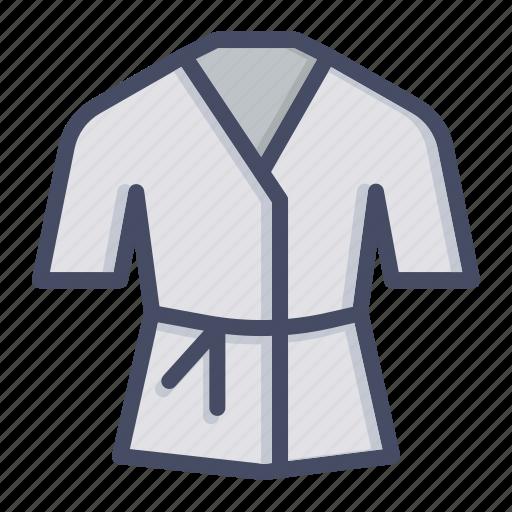 arts, costume, dress, karate, martial, robe, wear icon