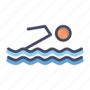 activity, pool, swim, swimming, water icon