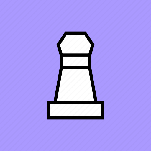 chess, pawn, piece, soldier icon