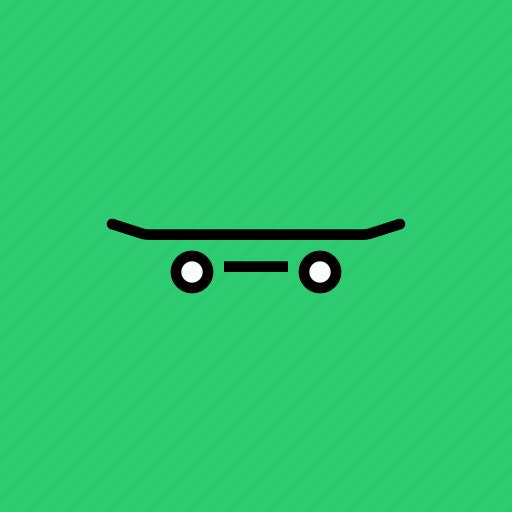 roll, skate, skateboard, skater, skating, wheels icon