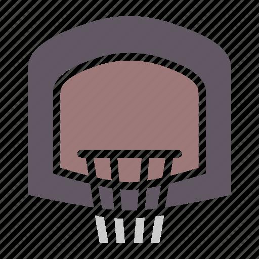 basket, basketball, game, hoop, indoor, sports icon
