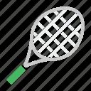 bat, game, hit, racket, racquet, sport, tennis