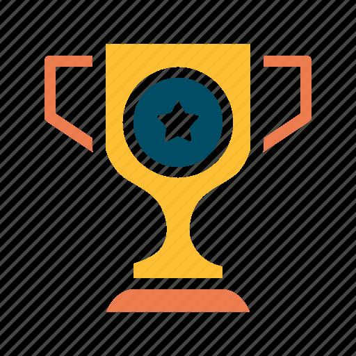 achieve, award, champion, championship, prize, trophy, winner icon