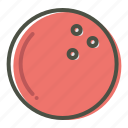 ball, bowl, bowling, game icon
