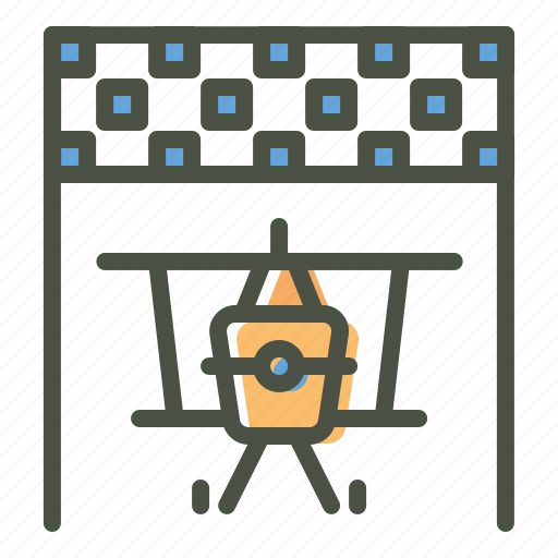 air, banner, checkered, finish, jet, race, racing icon