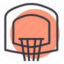 basket, basketball, game, hoop, indoor, sports icon
