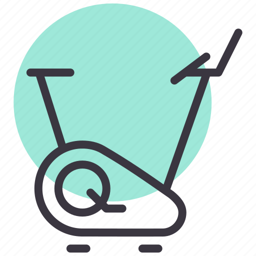 equipment, fitness, gym, jogging, machine, running, treadmill icon