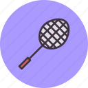 racket, racquet, game, badminton, shuttle