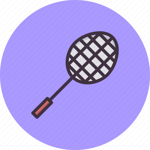 Badminton racket and shuttle png