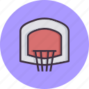 basket, game, basketball, hoop
