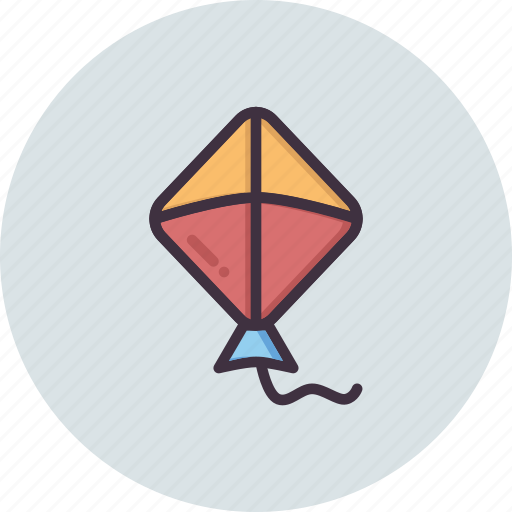 Fly, flying, kite, sky icon - Download on Iconfinder