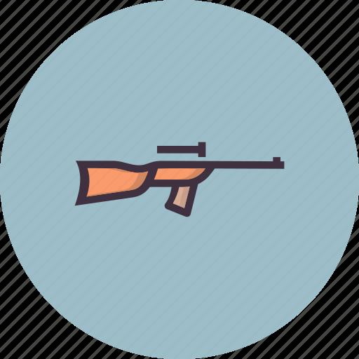rifle, shoot, shooting, weapon icon