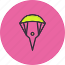 skyfall, paraglider, parachute, skydiving, paragliding, glider icon