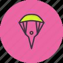 skyfall, paraglider, parachute, skydiving, paragliding, glider