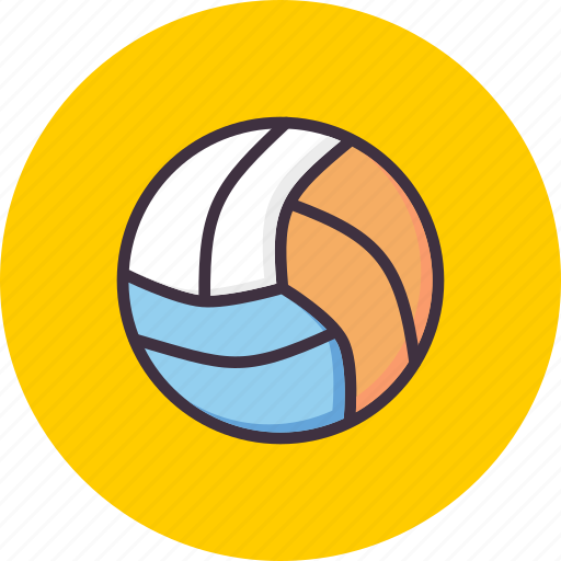 ball, game, volleyball icon