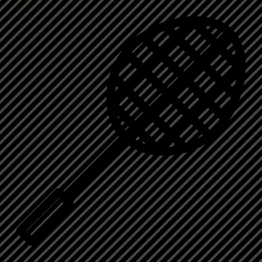 badminton, game, racket, racquet, shuttle icon