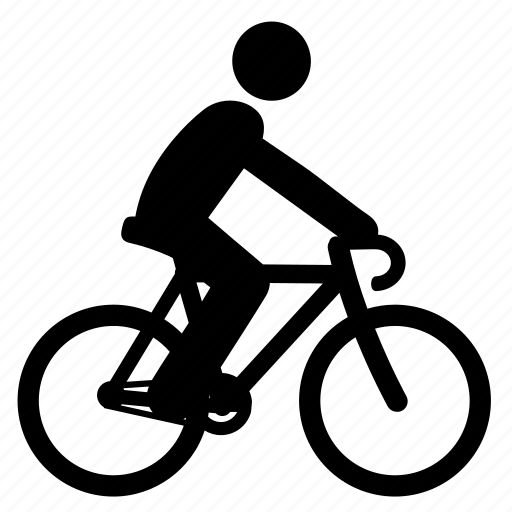 bicycle, bike, cycle, cycling, cyclist, sport, travel icon