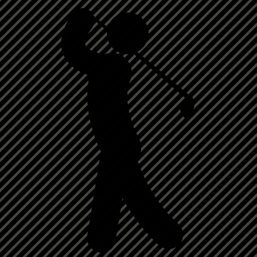 club, golf, golf-club, golfer, golfing, put, sport icon