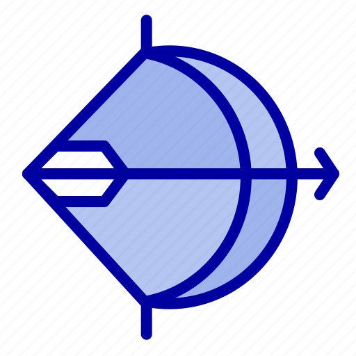 Aim, archery, arrow, bow, shoot icon - Download on Iconfinder