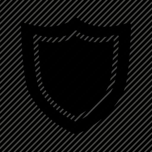 badge, grade, medal, rank, shield icon