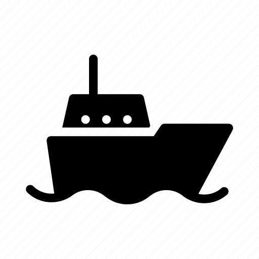 boat, cruise, ship, transport, travel icon