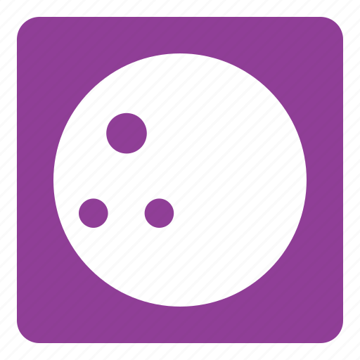 ball, bowling, bowling ball, set, sports, square icon