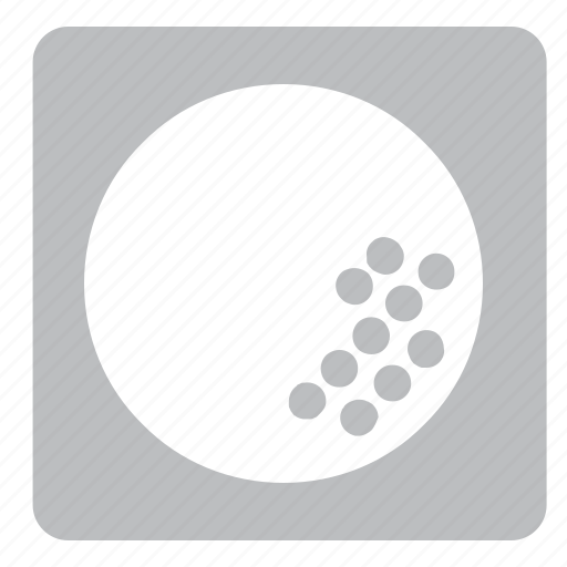 ball, golf, set, sports, square icon