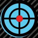 archery, sport, target icon