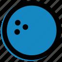 ball, bowling icon