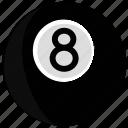 ball, billard, snooker icon
