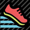 running, sport icon