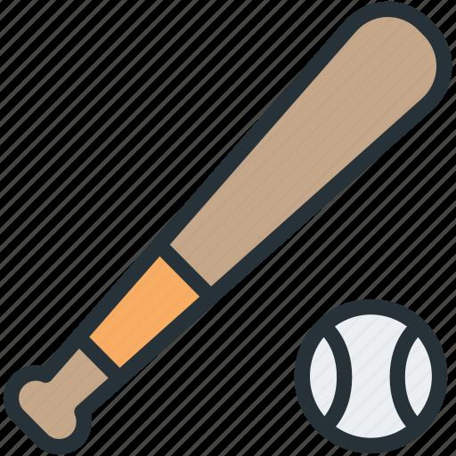 Baseball, bat, sports icon - Download on Iconfinder