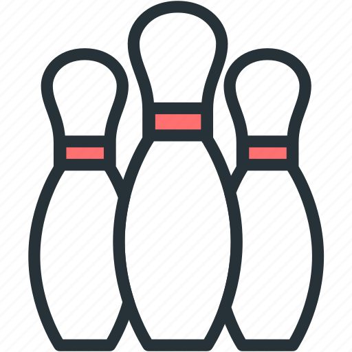Pins, bowling, sports icon - Download on Iconfinder