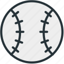 ball, baseball, equipment, sports icon