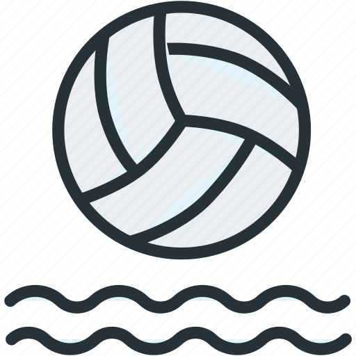 ball, polo, sports, swim, water icon