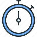 clock, sports, time, timer icon