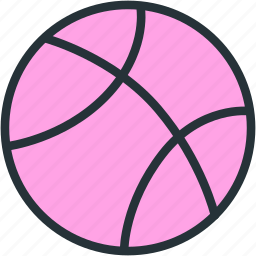 ball, basketball, equipment, sports icon
