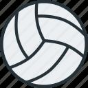 ball, equipment, sports, volleyball