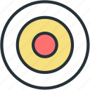 aim, sports, targer icon