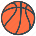 stripes, basketball, spherical, activity, sport, bounce, ball icon