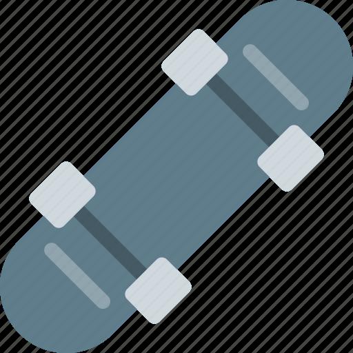back, board, object, outdoor, skateboard, sport, wheels icon