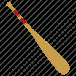 baseball, baseball bat, bat, sports icon