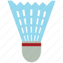 badminton, bird, birdie, racket sports, shuttle, shuttlecock, sports icon