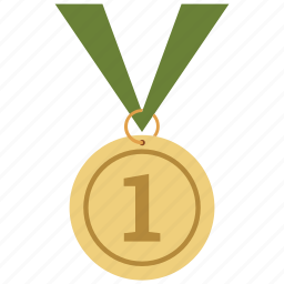 champion, first, medal, pride, winner icon