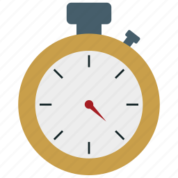 analog stopwatch, stopwatch, time, timepiece, timer icon