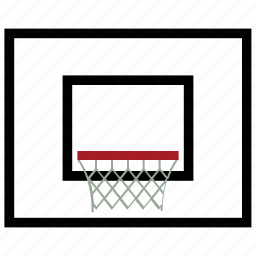 basket, basketball, basketball course, sports icon